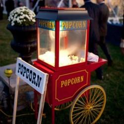 Popcorn Machine Huren Bruiloft
